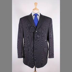 Calvin Klein 44R Gray Sport Coat Y286